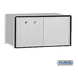 Salsbury Industries - Aluminum Parcel Locker - 1 Door - USPS Access - Aluminum Parcel Locker - 1 Door - USPS Access