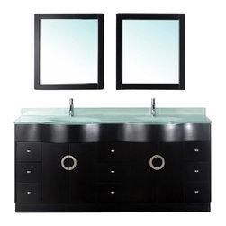 Shop 72 Inch Double Bathroom Vanity Bathroom Vanities on Houzz