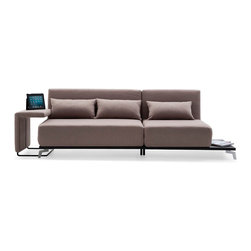 JH033 Sofa Bed - Another winner by IDO. This sofa bed features a stationary double