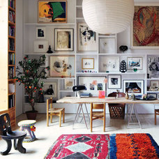 Re-Thinking the Gallery Wall: 10 Funky New Ideas | Apartment Therapy