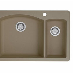 Blanco - Blanco Diamond 1-1/2 Bowl - The beauty of our colorful 1-1/2 bowl design is only enhanced by its incredible durability. Heat-resistant, scratch-resistant and created to reflect the natural look of stone, this is one sink you have to see and feel to believe.