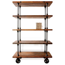 Industrial Bookcases by Kathy Kuo Home