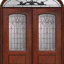 """Prehung Transom Double Door 80 Fiberglass Palacio Arch Lite Glass - SKU#MCR06195_DFAP2-EUBrandGlassCraftDoor TypeExteriorManufacturer CollectionArch Lite Entry DoorsDoor ModelPalacioDoor MaterialFiberglassWoodgrainVeneerPrice4385Door Size Options2(36"""")[6'-0""""]  $0Core TypeDoor StyleDoor Lite StyleArch LiteDoor Panel Style1 PanelHome Style MatchingDoor ConstructionPrehanging OptionsPrehungPrehung ConfigurationDouble Door and Elliptical TransomDoor Thickness (Inches)1.75Glass Thickness (Inches)Glass TypeDouble GlazedGlass CamingBlackGlass FeaturesTempered glassGlass StyleGlass TextureGlass ObscurityDoor FeaturesDoor ApprovalsEnergy Star , TCEQ , Wind-load Rated , AMD , NFRC-IG , IRC , NFRC-Safety GlassDoor FinishesDoor AccessoriesWeight (lbs)753Crating Size36"""" (w)x 108"""" (l)x 89"""" (h)Lead TimeSlab Doors: 7 Business DaysPrehung:14 Business DaysPrefinished, PreHung:21 Business DaysWarrantyFive (5) years limited warranty for the Fiberglass FinishThree (3) years limited warranty for MasterGrain Door Panel"""