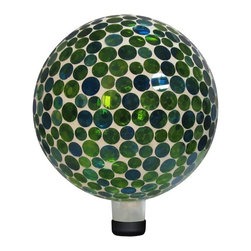 Alpine - Alpine 10 in. Green Mosaic Gazing Globe - GRS116 - Shop for Gazing Balls and Stands from Hayneedle.com! About Alpine CorporationAlpine Corporation has offices in Arizona Colorado Florida Iowa and Ohio. With a firm belief in the free enterprise system Alpine Corporation promotes equal treatment for customers employees shareholders suppliers and the community. Alpine Corporation carries a vast array of items including fountains pond and garden accessories and statuary and carries lighting and parts as well. A steadfast goal for Alpine Corporation is to continually exceed their customers' increasing expectations.