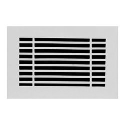 Linear Vent Cover, Unfinished, 10x10 - Clean lines make this design a winner appropriate for all style homes, offices and commercial spaces. It's simple, classic aesthetic makes it an appealing option for any decor scheme.