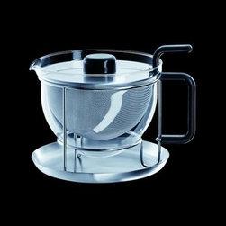 Mono - Mono | Mono-Classic Tea Teapot with Tray - Design by Tassilo Von Grolman, 1983.