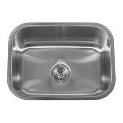 "Miseno - Miseno 23"" Undermount Single Basin Stainless Steel Kitchen Sink 18G - Included Free with Your Miseno Sink:"
