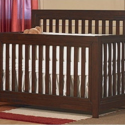 "PALI - Novara Convertible Crib Set - Features: -Novara collection. -Solid rubberwood construction. -Converts to full-size bed. -When it comes time to invest in furniture, Pali has manufactured an excellent product that will last for generations; when purchasing Pali furniture, you can be comfortable in the knowledge that you have made a lifetime investment for your child. Dimensions: -50"" H x 75"" - 75.31"" W x 60"" D. Pali's Commitment to a Greener Environment: Pali uses non toxic, lead-free water-based paints, only water-based glues, recycled cardboard for their packaging and techniques that minimize solvent emissions and surpass American standards. They also recycle all materials that cannot be reused. Therefore, Pali's commitment to a greener environment is a commitment to each and every one of their customers and the well-being of future generations. This is a NON-Drop Side crib"