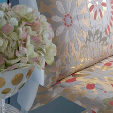 Modern Upholstery Fabric by Britto Charette Interiors - Miami Florida