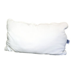 Malpaca - Malpaca Pillow, Natural White, King, Medium Fill - Created as a safe alternative to the normal bedding fabrics that contain fire retardants and insecticides, Malpaca Pillows are Certified Made in the USA of 100% natural alpaca fiber. Available in four sizes and three fill options, Malpaca Pillows offer the size and firmness options to provide the perfect sleep; whether you prefer the traditional softer, flatter pillow or the popular firmer contemporary option.