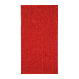 """Safavieh - Indoor/Outdoor Courtyard Round 5'3"""" Round Red - Red Area Rug - The Courtyard area rug Collection offers an affordable assortment of Indoor/Outdoor stylings. Courtyard features a blend of natural Red - Red color. Machine Made of Polypropylene the Courtyard Collection is an intriguing compliment to any decor."""