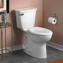 """American Standard Cadet PRO Right Height Elongated 10"""" Rough Toilet - •Features the Cadet® Flushing System"""