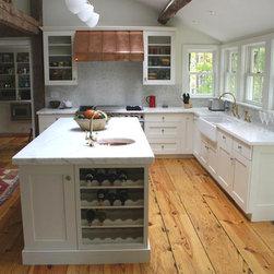 Renovated Farm House - Reclaimed - Heart Pine floor   * random width   * new face.