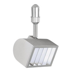 W.A.C. Lighting - W.A.C. Lighting HM-150-PT FLEXRAIL2 Quartz Track Light Fixture - Engineered with an integral electronic transformer, the Flexrail™2 AR111 Fixture features solid die cast aluminum construction and a patented tool-free locking mechanism for precision aiming and lockability using various lamps for long throws of light and wide beam spreads.