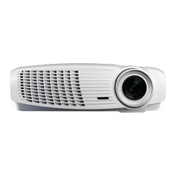 "Optoma - OPTOMA HD131Xw HD131Xw Full-3D 1080p Projector - � 2,500 ANSI lumens;� Native HD (1920 x 1080) resolution;� 18,000:1 contrast ratio;� Full 3D;� Max lamp life: 6,500/3,500 hours (ECO+/normal);� Features DLP(R) Technology by Texas Instruments(R);� Built-in 10W speaker;� 2 HDMI(R) v1.4a, 2 VGA in, composite video, 2 audio in, audio out, 3D VESA(R), RS-232C & USB-B;� Includes remote;� Weight: 6.4lbs;� Dim: 3.8""H x 12.7""W x 9.2""D;� 1-year limited parts & labor warranty, 90 days on lamp"