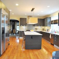 Modern Kitchen Cabinets by Prestige Designs