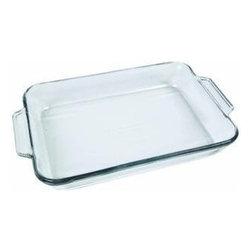 ANCHOR HOCKING GLASS - 81935OBL5 3 Quart Baking Dish - 81935OBL5 3 Quart Baking Dish