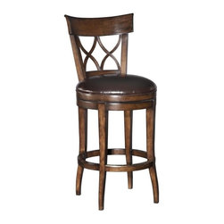EuroLux Home - New English Regency Style Counter Stool - Product Details