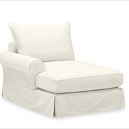 PB Comfort Roll Arm Left Arm Chaise Knife-Edge, Polyester Wrap, Brushed Canvas N - Sink into this comfort sectional just once, and you'll know how it got its name.With extra-deep seats and three layers of thick padding on the arms and back, these eco-friendly components provide roomy comfort for the whole family. {{link path='pages/popups/PB-FG-Comfort-Roll-Arm-4.html' class='popup' width='720' height='800'}}View the dimension diagram for more information{{/link}}. {{link path='pages/popups/PB-FG-Comfort-Roll-Arm-6.html' class='popup' width='720' height='800'}}The fit & measuring guide should be read prior to placing your order{{/link}}. Choose polyester wrapped cushions for a tailored and neat look, or down-blend for a casual and relaxed look. Choice of knife-edged or box-style back cushions. Proudly made in America, {{link path='/stylehouse/videos/videos/pbq_v36_rel.html?cm_sp=Video_PIP-_-PBQUALITY-_-SUTTER_STREET' class='popup' width='950' height='300'}}view video{{/link}}. For shipping and return information, click on the shipping tab. When making your selection, see the Quick Ship and Special Order fabrics below. {{link path='pages/popups/PB-FG-Comfort-Roll-Arm-7.html' class='popup' width='720' height='800'}} Additional fabrics not shown below can be seen here{{/link}}. Please call 1.888.779.5176 to place your order for these additional fabrics.