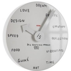 Contemporary Clocks by Alessi