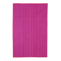 Fab Habitat - Fab Habitat - Indoor Cotton Rug - Marga - Very Berry & Violet, 3' X 5' - Fab Habitat brings you a stylish collection of rugs made from recycled cotton. These handcrafted flat weave cotton rugs have subtle elegance with simple and classic designs. They are perfectly suited to bring comfort to a modern space. The rugs are made to withstand everyday use and are extremely easy to take care of. These rugs are made using sustainable practices and dyes, which are safe for the environment.