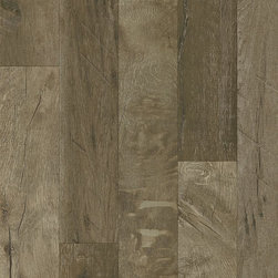 Armstrong Rustics Premium Laminate Flooring - Forestry Mix - Gray Washed - If comfortable and relaxed define your style, the Rustics Premium laminate collection is perfect for you. These floors offer scraped textures and farmhouse-style wide boards that are in step with current interior trends.