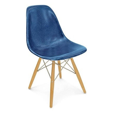 Modernica Dowel Side Shell Chair - The Case Study Fiberglass Dowel Chair is an essential for the modern home and with so many options—it is possible to create your own one-of-a-kind chair. The shell is available in a myriad of colors. Choose your wire-frame in either zinc-plated steel or black powder-coated steel, and finish your design by choosing either solid maple dowels or solid walnut dowels.