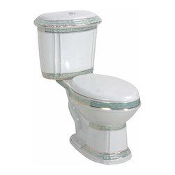 Renovators Supply Toilets White Green China India