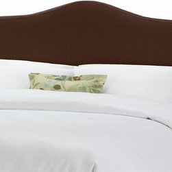 Skyline Furniture - Slipcover Headboard w Foam Padding in Linen C - Choose Size: California KingAdjustable legs. Plush foam padding. Attaches to standard bed frames. Made from 55% linen and 45% viscose. Made in the USA. Minimal assembly required. Twin: 41 in. L x 4 in. W x 51 in. H (24 lbs.)Full: 56 in. L x 4 in. W x 51 in. H (31 lbs.). Queen: 62 in. L x 4 in. W x 51 in. H (33 lbs.). King: 78 in. L x 4 in. W x 51 in. H (45 lbs.). California king: 74 in. L x 4 in. W x 51 in. H (40 lbs.)Slipcover headboard with decorative ties