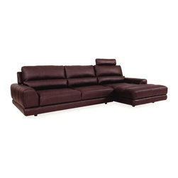 Moroni - Moroni - Olympia Sectional - 555-SEC - Set includes Single Arm sofa, Single arm chair and Half, Armless chair and half and Corner
