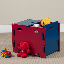 "Legare Furniture - Legare Kids Storage Bin - Legare Kids furniture uniquely assembles in 3 minutes or less with no tools and no hardware. Despite the ease of assembly, Legare Furniture is tough enough for a kids room and as easy to assemble the 100th time as the 1st. Unique furniture design that's so easy to use. So easy to put together. So easy to fall in love with. Legare's modular, reversible designs make media, bedroom and office planning simple and infinite. Choose from media centers, beds, dressers, storage, corner and straight desks, bookcases and more. Legare adapts to your space. In just 3 minutes, you can build an entire system with no tools, no screws or bolts and best of all, no hard labor. Made out of the finest materials. Features: -Storage bin.-Unique design.-Can accommodate toys, clothes and stuffed animals.-Lid can be closed, or hang on the sides or middle of the box.-Durable, non-toxic and painted finish.-Legare Kids collection.-Collection: Legare Kids.-Distressed: No.-Frame Material: MDF.-Solid Wood Construction : No.-Non-Toxic: Yes.-Insect Resistant: Yes.-Rot Resistant: Yes.-Number of Interior Storage Sections: 1.-Removable Dividers : No.-Lidded: Yes -Removable Lid : Yes.-Safety Lid: No..-Upholstered: No.-Handles : Yes.-Casters: No.-Stackable: Yes.-Tipping Prevention: None.-Swatch Available: No.-Commercial Use: Yes.-Recycled Content: No.-Eco-Friendly: Yes.-Product Care: Wipe clean with dry or slightly damp cloth.Specifications: -CARB Compliant: Yes.Dimensions: -Overall Height - Top to Bottom: 17.3"".-Overall Width - Side to Side: 24"".-Overall Depth - Front to Back: 17"".-Shelving: No.-Drawer: No.-Cabinet: No.-Basket: No.-Storage Compartment: Yes.-Letters: No.-Seat : No.-Overall Product Weight: 31 lbs.Assembly: -Assembly Required: Yes.-Tools Needed: No tools needed.-Additional Parts Required: No.Warranty: -Product Warranty: 3 Year limited warranty."