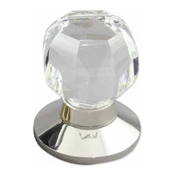 rchsupplyco - OCTAGONAL DOOR KNOB - Materials Available in:Crystal
