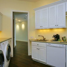 Traditional Laundry Room by Studio Swann | Custom Kitchens & Baths