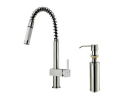 Vigo - VIGO VG02009STK2 Kitchen Faucet - You deserve a kitchen that reflects your personality. Why not start with this stylish and durable VIGO faucet for your sink?