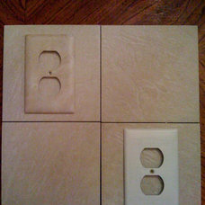 Traditional Tile Switch plates by Brandy