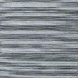 Jaipur Rugs - Flat Weave Stripe Pattern Blue Wool Handmade Rug - CC03, 10x14 - Fashion-forward color and a soft texture highlight the relaxed sophistication of the Coastal Living Dhurries Collection. Ideal for any casual lifestyle, the boldly striped, flat-woven pieces are easily cleaned - ideal for lounging after a day spent at the beach.