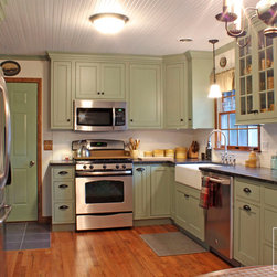 Sage Green Kitchen Cabinets Kitchen Design Ideas, Pictures, Remodel ...