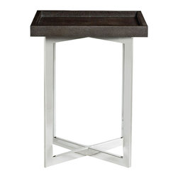 Bernhardt Interiors - Bernhardt Interiors Stratton Metal Chairside Table 336-106/336-106T - Bernhardt Interiors Stratton Metal Chairside Table 336-106/336-106T.