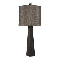 Surya - Arian Resin Table Lamp - Arian Resin Lamp