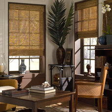 Eclectic Roman Blinds by American Blinds Wallpaper and More