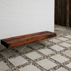 4. Fence Bench