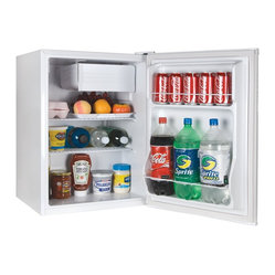 2.7 Cubic-Foot Fridge With Freezer White