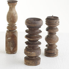 Traditional Candleholders by Wisteria