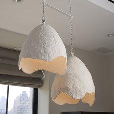 Modern Chandeliers by interieurs by Francine Gardner