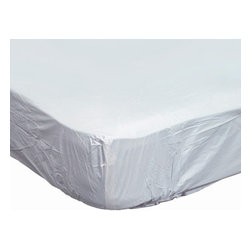Duro-Med Industries - Mabis - DMI Contoured Plastic Mattress Protector For Home Beds - Protects and extends the life of the mattress- Will not crack, peel or discolor- Contoured-style slips easily over mattress- Hypoallergenic- Waterproof- Fits Bed Size