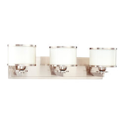 Hudson Valley - 6103-PN Basking Ridge Bath Vanity Light, Polished Nickel - Modern Contempo Bath Vanity Light in Polished Nickel from the Basking Ridge Collection by Hudson Valley.