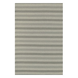 Loloi Rugs - Loloi Rugs Terra Steel Contemporary Indoor / Outdoor Rug X-656300TS30-ETRRET - Rows upon rows of intricate detailing create a striped look to this simple Loloi Rugs indoor / outdoor floor rug. Perfect for patios, porches, living rooms and bedrooms, this flat weave rug is available in several accommodating sizes and features a stylish steel color palette.