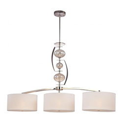 Troy Lighting - 3 Light Island Billard Fixture With Drum ShadesFizz Collection - Being a leader in an industry requires many attributes.