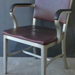 Vintage Aluminum Armchair by General Freproofing -