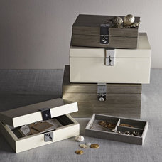 Modern Jewelry Boxes And Organizers by West Elm